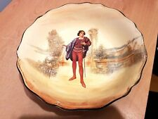 """Vintage Royal Doulton """"Romeo"""" Hand Finished 9.5"""" Bowl D3596. Very Good Condition"""