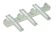 Peco SL-311 Rail Joiners, insulated / plastic (pack 12) Code 80 & 55  N Gauge