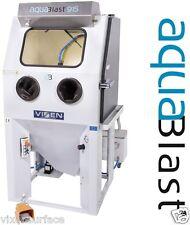 Wet Blasting, Vixen Cabinet, Aqua Blast, Aqua Vapor, Shot blasting machine