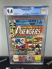 AVENGERS ANNUAL #10 CGC 9.4 1st ROGUE and Madelyn Pryor X-MEN 1981