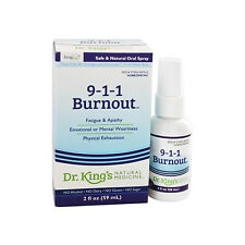 King Bio 9-1-1 Burnout Homeopathic Spray, 2 Ounces