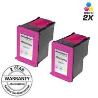 2 HP61XL 61XL 61 CH564WN Color Printer Ink Cartridge for HP ENVY 4500 5530