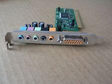 Gamesurround L-8738-6C (L-Shape) PCI Carte son avec C-Media Chipset (non utilisé)