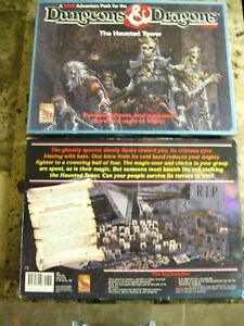 Dungeons & Dragons Game The Haunted Tower TSR 1992