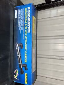 Pondmaster 02940 Supreme 40 Watt Submersible UV Water Clarifier Pond Aquarium C