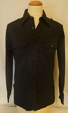 $850.00 Beautiful GUCCI Black Double Pocketed Black Dress Shirt *Make An Offer!*