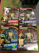 S.H.FIGUARTS Teenage Mutant Ninja Turtles COMPLETE set 4- Leo, Raph, Mikey, Doni