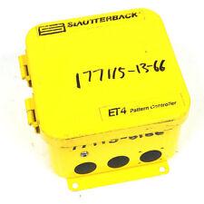 USED SLAUTTERBACK ET4 77115 PATTERN CONTROLLER ET4