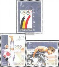 Bélgica 2959-2961 (compl.edición) nuevo con goma original 2000 Olimpia