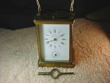 VINTAGE FRENCH L'EPEE GRANDE STRIKING REPEATER ALARM CARRIAGE CLOCK-MAGNIFICENT