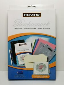 Fiskars Parchamore Crafting System 12-5694 - NEW Paper Craft Embossing Hobby