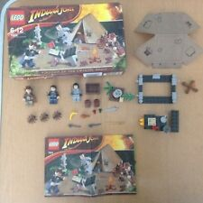 Lego Indiana Jones Jungle Duel 7624 - Appears To Be Complete With Mini Figures