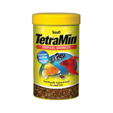 Tetra Tetramin Tropical Granules 34g Sinking Pellets Small Fish Food Betta