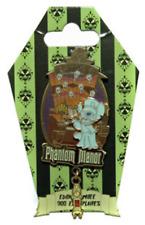 Disney Pin 72741 DLRP Phantom Manor Event Stitch playing organ Green Card LE 300