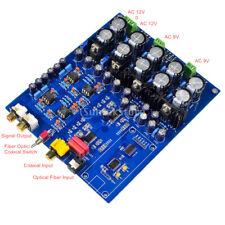 AK4396VF AK4113VF JRC5532 NE5534 Decoder DAC Fiber Coaxial USB Input board