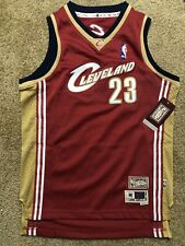 NEW Lebron James Mitchell & Ness Cleveland Cavaliers Throwback Youth Jersey SZ M