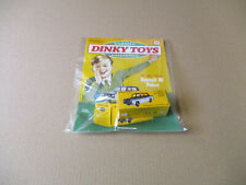 DeAGOSTINI CLASSIC DINKY TOYS COLLECTION ISSUE #66 RENAULT R8 POLICE  CAR TOY