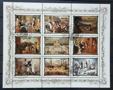 EAST ASIA - 1984 - Portraits of European Rulers - Nr. 1 USED Block of 9 stamps
