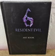 Resident Evil 6 Art Book VGC