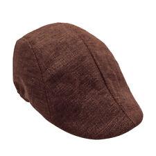 Gorra para hombre Mujer Papelero Boina Sombrero Hiedra Golf Gatsby conductor 58690193043