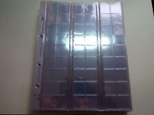 Leuchtturm phare OPTIMA album numismatique m pages feuilles détiennent 54 pièces de monnaie jusqu' à 20 mm