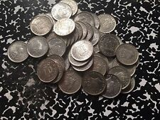 1941 Ceylon 10 Cent Silver Beautiful Blast White UNC Examples! (1 Coin Only)