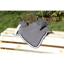 Bonnet gris anthractire cordelière noire Bonnet anti- mouches gris anthracite co