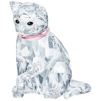 Swarovski Crystal Creation 5465836 Cat Mother RRP $179