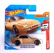 Hot Wheels 1/64 3 inch '89 Porsche 944 turbo