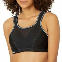 Glamorise Women's Sports Bra 40G Black