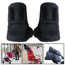 2x wasserdichte Kinderwagen Kinderwagen Mitten Winter warme Handschuhe Hand Muff