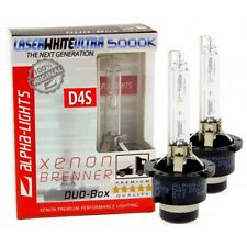 ALPHA-Lights Laser White Ultra D4S 5000K Xenon Brenner 35W 2 Lampen DUO-Set
