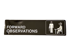 Forward Observations Group FOG Bumper Sticker Decal Slap DEVGRU NSW - THE OFFICE