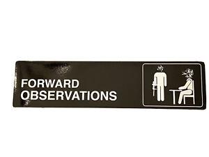 Forward Observations Group FOG Bumper Sticker Decal Slap DEVGRU NSW - THE OFFICE