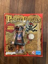 Playmobil Pirate Captain Figures X2 People