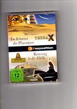 Terra X - Im Schatten der Pharaonen / Kreuzzug in die Hölle / NEU / DVD