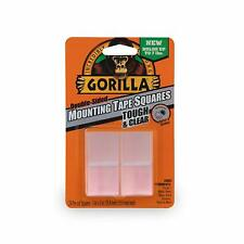 Gorilla Mounting Strips Self Adhesive Fix Mount Repair Diy Stick Clear
