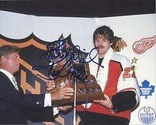 Philadelphia Flyers RON HEXTALL Signed 8x10 Photo
