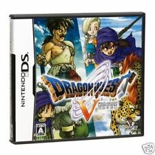 Dragon Quest V DQ 5 NINTEND DS NDS Import Japan