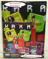 Korean Idol Kara Vol. 3 Step Taiwan Ltd CD + PVC Folder + 32P booklet