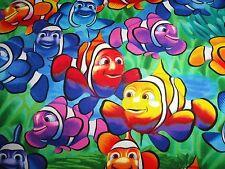 Angelfish Angel fish Nemo blue water cotton nautical beach fabric quilting sewin
