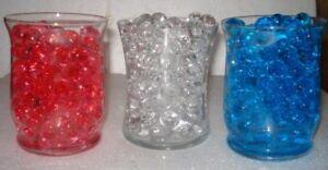 Water Beads - all event centerpiece decorations - vase filler - gel beads - USA