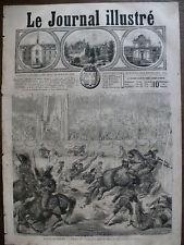 JOURNAL ILLUSTRE 1868 N 231 CORRIDA AUX FÊTES DU HAVRE