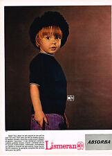 PUBLICITE  1968   ABSORBA LISMERAN   vetements enfants