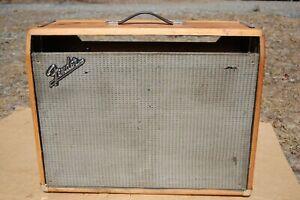 Fender EMPTY  1972 Twin Reverb AMPLIFIER CABINET
