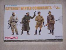 Figurines DRAGON 1/35ème OSTFRONT WINTER COMBATTANTS