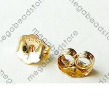 14k Gold Filled  Ear Post Earring Butterfly Backing F76GF- 50 pieces (25 pairs)