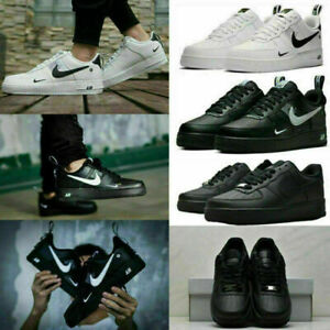 NIKE AIR FORCE 1'07 Sneaker Women&Mens Sports Shoes Sneakers Low Size UK 4.5-8.5