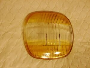 41 1941 BUICK OLDSMOBILE NIGHTHAWK GUIDE FOG LIGHT AMBER/CLEAR LENS NOS? 5931435