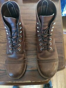 Red wing Iron Rangers 8EE 8111